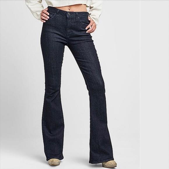 446b07f59ea Hudson Jeans Jeans   Hudson Dark Wash Holly High Waist Flare Nwt ...